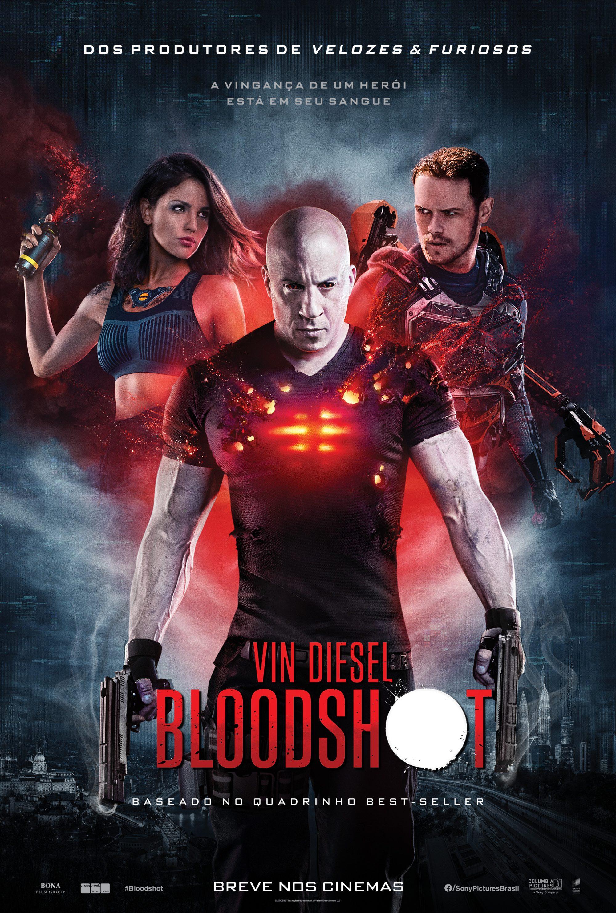 BLOODSHOT, da Sony Pictures, ganha cartaz oficial