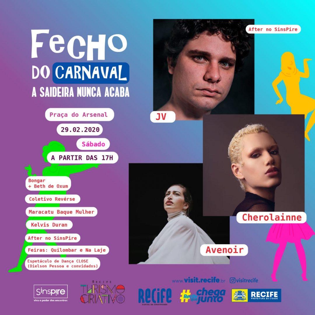 Festa Fecho leva maratona musical carnavalesca para a Praça do Arsenal e Espaço Cultural Sinspire neste sábado