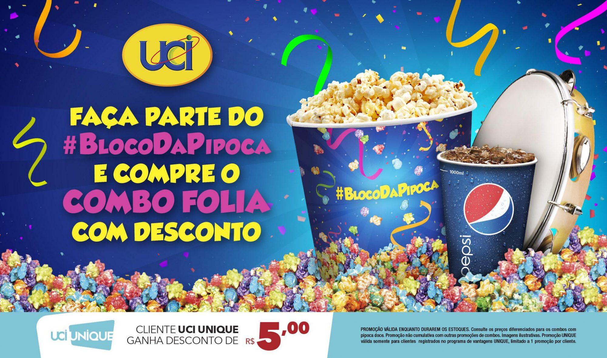 Carnaval invade os cinemas UCI Kinoplex em Recife