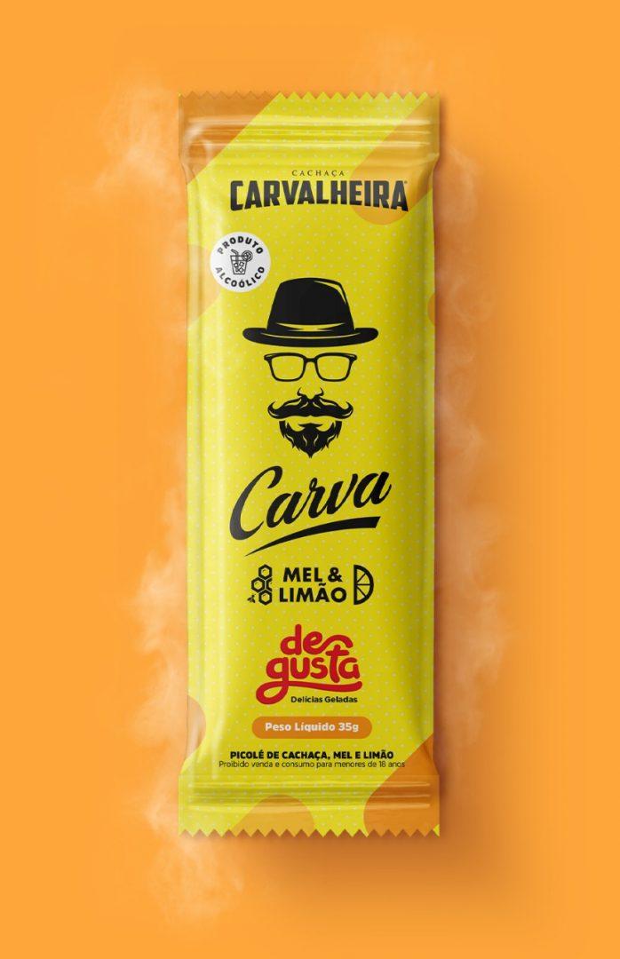 Degusta lança picolé no Carvalheira na Ladeira