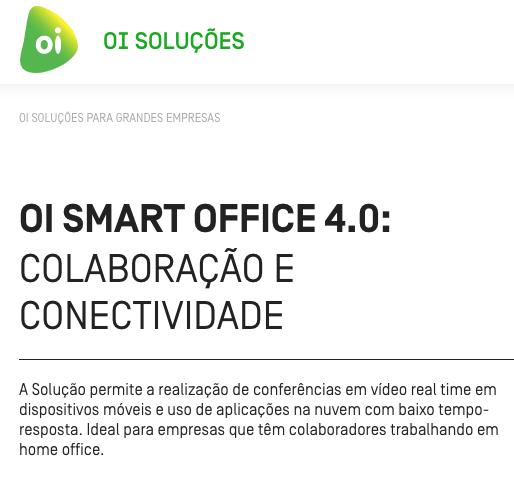 Oi Soluções apresenta evolução da plataforma de home office