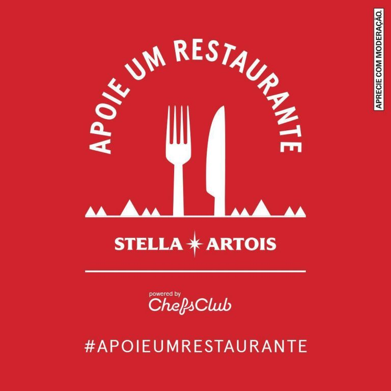 Stella Artois cria movimento para ajudar mais de mil restaurantes