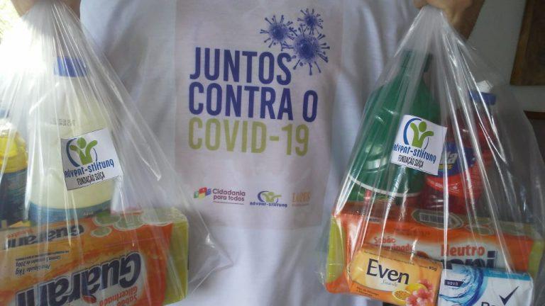 Covid-19: Fundação suíça doa kits de higiene para comunidades de PE