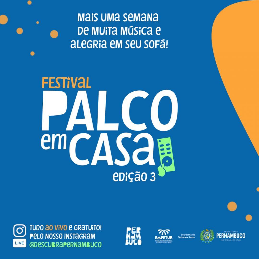 Do Fado ao Frevo: Brasil e Portugal encontram-se no Palco em Casa esta semana