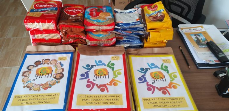 Giral mantém assistência a crianças e adolescentes durante o período de isolamento social