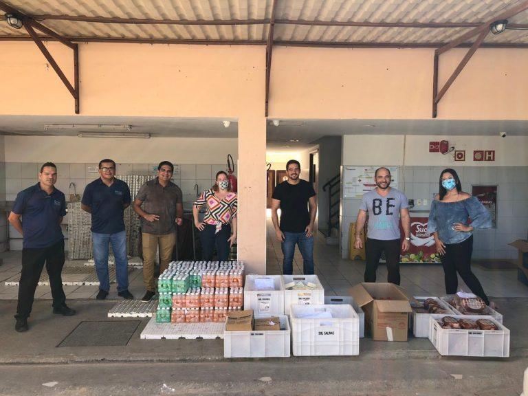 Grupo Amarante doa mais de dez toneladas de alimentos e kits de higiene, cama, mesa e banho para três municípios de Alagoas