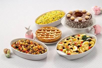 Extra tem encomendas de pratos prontos, saborosos e acessíveis para o almoço de Páscoa