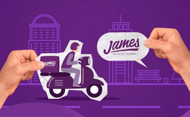 James paga gorjeta em dobro para entregadores