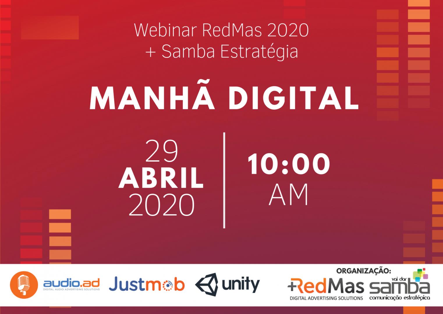 RedMas e Samba Estratégia realizam bate-papo virtual