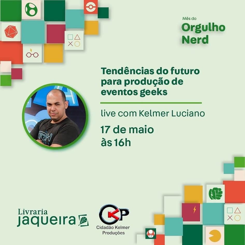 Livraria Jaqueira debate futuro do setor de eventos em live neste Domingo(17)