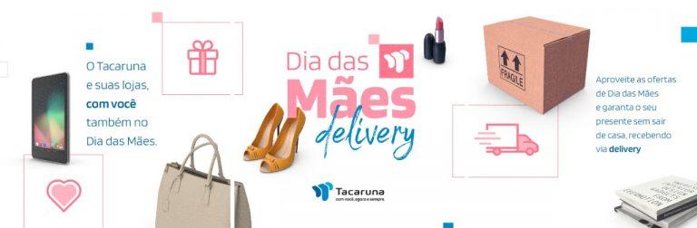 Lojas do Shopping Tacaruna fazem serviço de delivery para o Dia das Mães