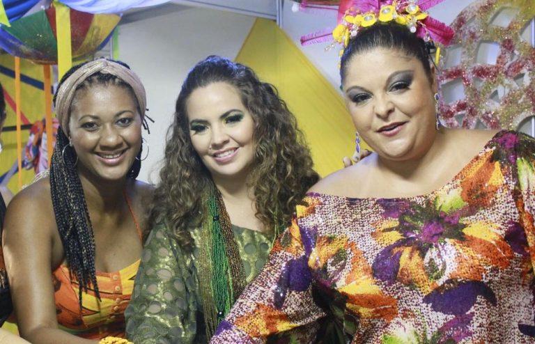 Karynna Spinelli comanda primeira live do Clube do Samba este ano