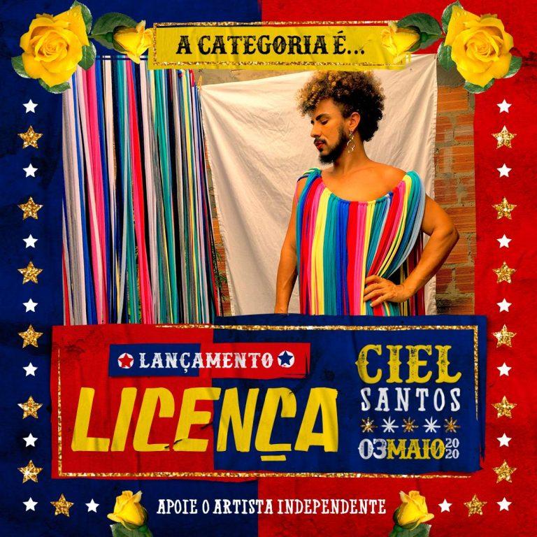 Ciel Santos lança clipe gravado na quarentena