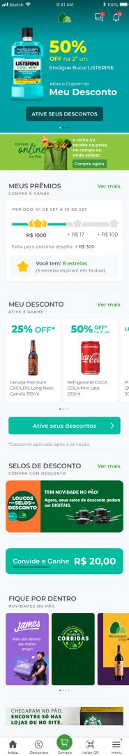 Extra e Pão de Açúcar reformulam aplicativos para acompanhar crescimento de vendas online