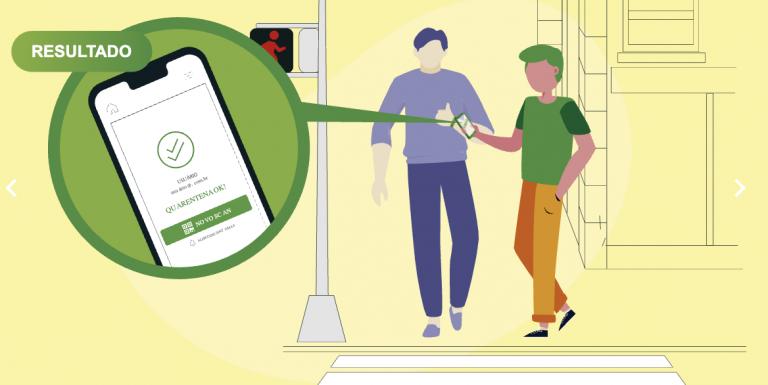 Plataforma disponibiliza um monitor do isolamento social e facilita o retorno às atividades após a pandemia
