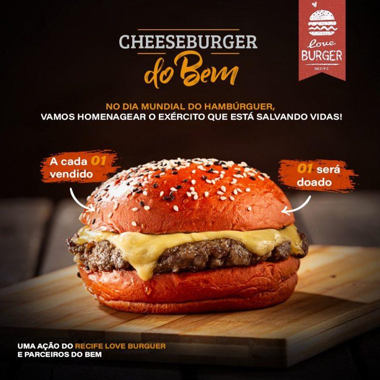 """Cheese Burger do Bem"""