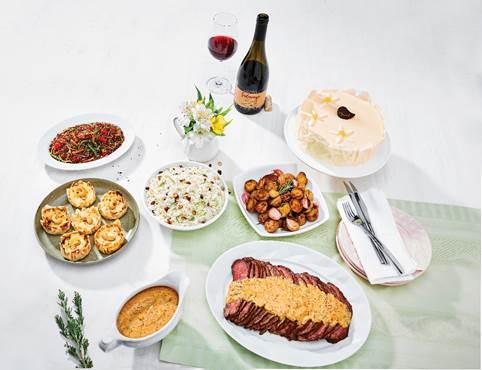 Pão de Açúcar tem cardápio especial com almoço completo e pratos complementares para o Dia das Mães