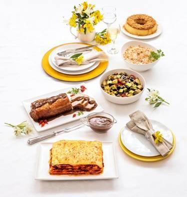 Extra tem encomendas para kit completo, pratos prontos e sobremesas para o almoço de Dia das Mães