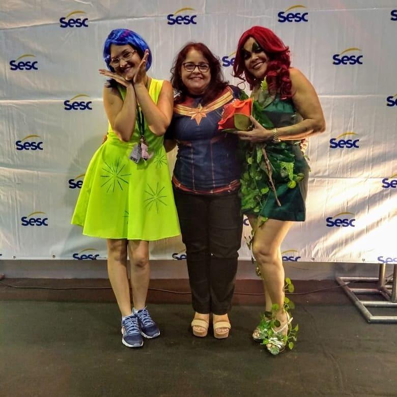 Sesc Casa Amarela promove concurso de cosplay na Semana Geek