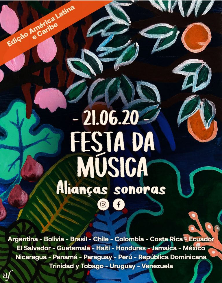 Alianças Francesas da América Latina e Caribe promovem primeira edição da Fête de la Musique virtual