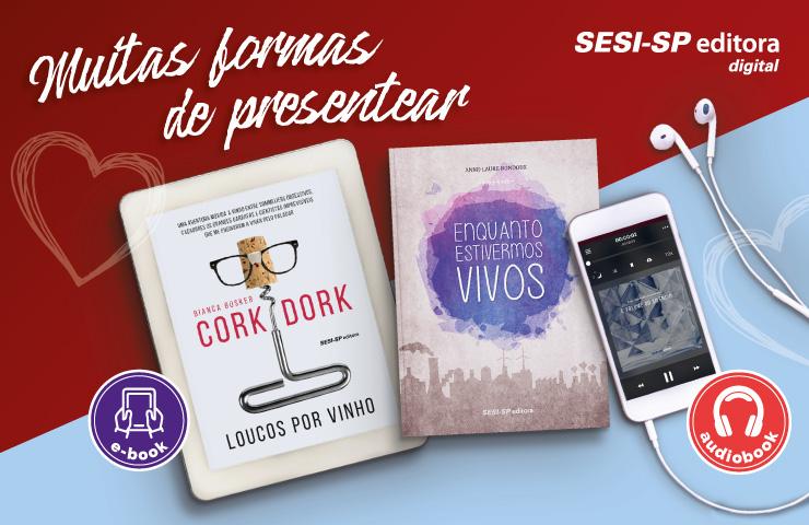 Confira as sugestões de títulos digitais da SESI-SP Editora para este Dia dos Namorados