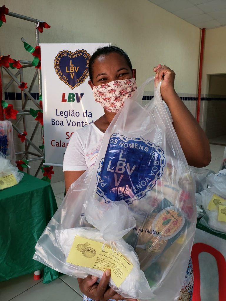 Celpe promove ação solidária com clientes em prol da LBV