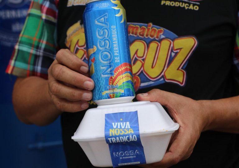 Cerveja Nossa ajuda a manter a tradição do cuscuz gigante em Caruaru