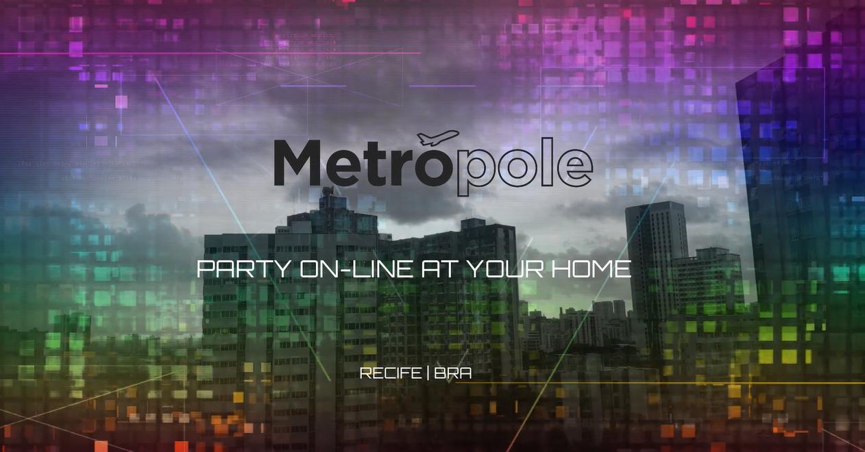 Metrópole at your home ganha sua 2ª edição com a festa 'O Rei da Espiga Online'