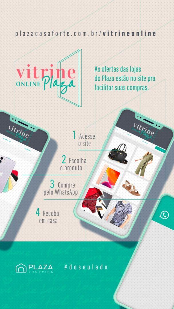 Presente do Dia dos Namorados poderá ser adquirido em Vitrine Online no Plaza Shopping