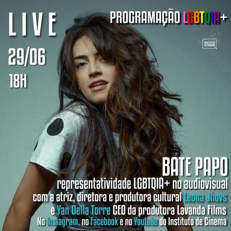 Live – Representatividade LGBTQI+ no audiovisual