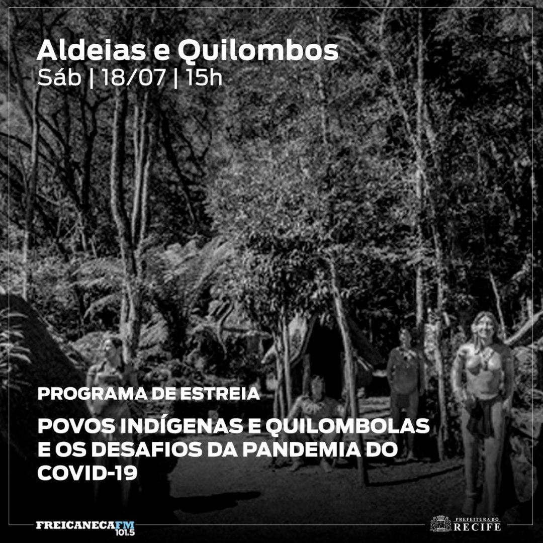 Programa sobre ancestralidade negra e indígena estreia em Recife