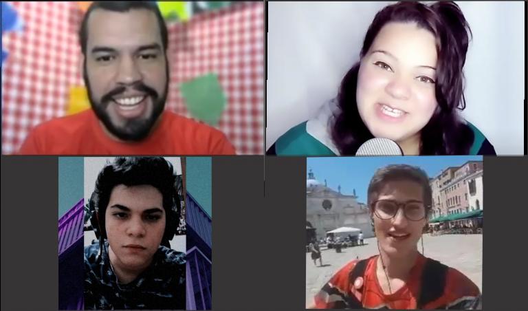 Novos Streamers viram apresentadores para ajudar seu público a enfrentarem o isolamento social em novos programas no Power-Kon TV.
