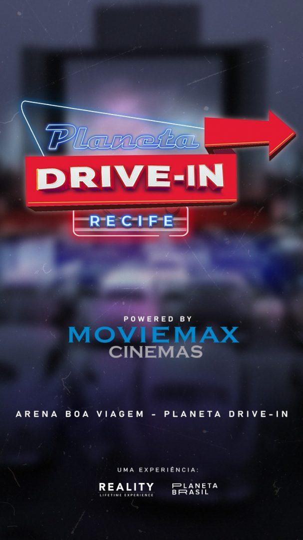 Planeta Drive-in por Moviemax Cinemas