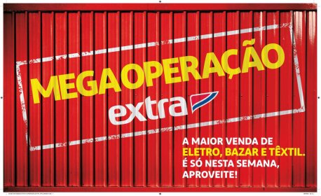 Megaoperação do Extra tem ofertas em eletro, moda e bazar e condições de pagamento especiais