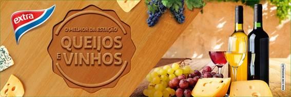 Para entrar no clima do inverno, unidades do Extra Hiper realizam especial de queijos e vinhos