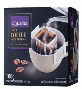 Qualitá aposta na qualidade aliada à praticidade e lança drip coffee