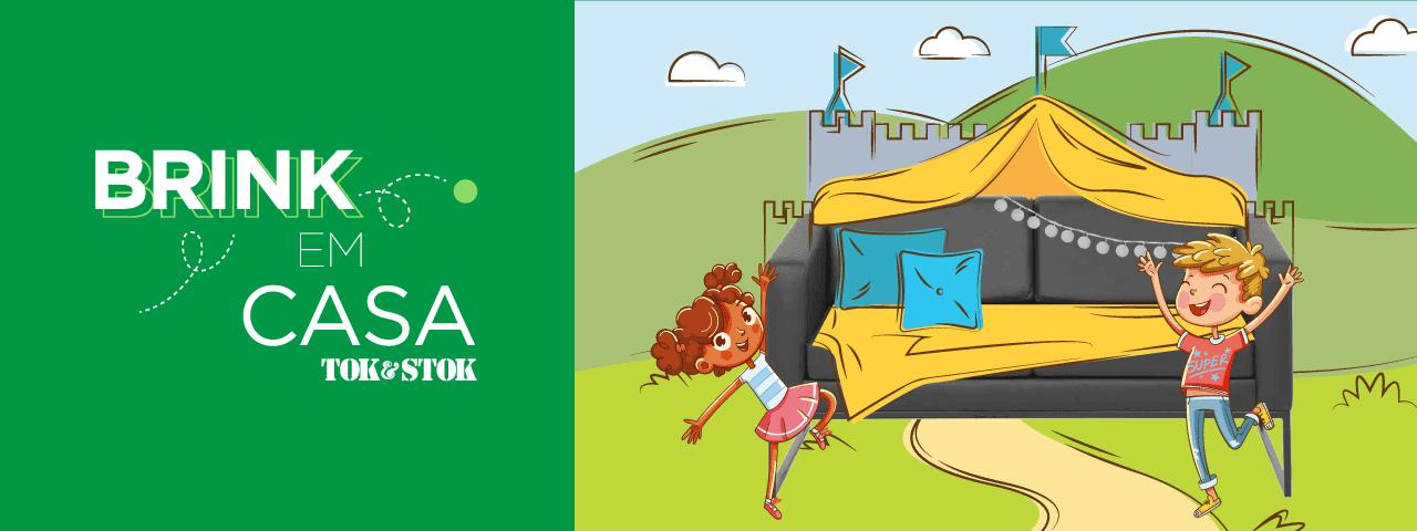 Tok&Stok lança guia com conteúdos especiais para entreter crianças durante a quarentena