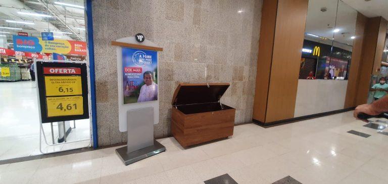 """Shopping Tacaruna abraça a campanha """"A Fome Não Pode Esperar"""" do padre Arlindo de Tamandaré"""
