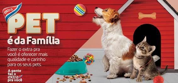 Extra promove Festival Pet com promoções e ação beneficente para animais em adoção