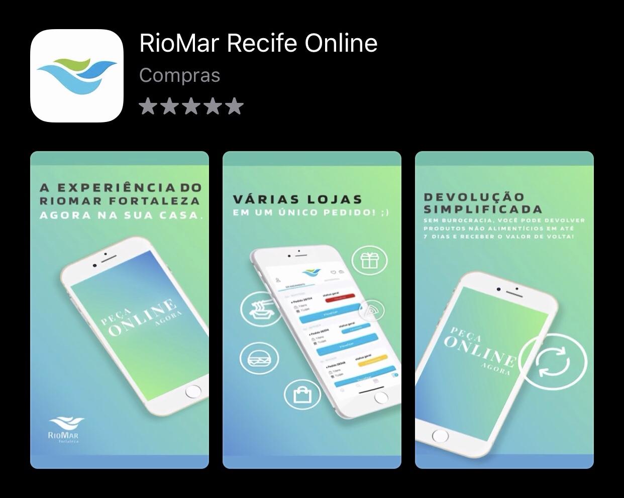 Plataforma RioMar Online agora em APP