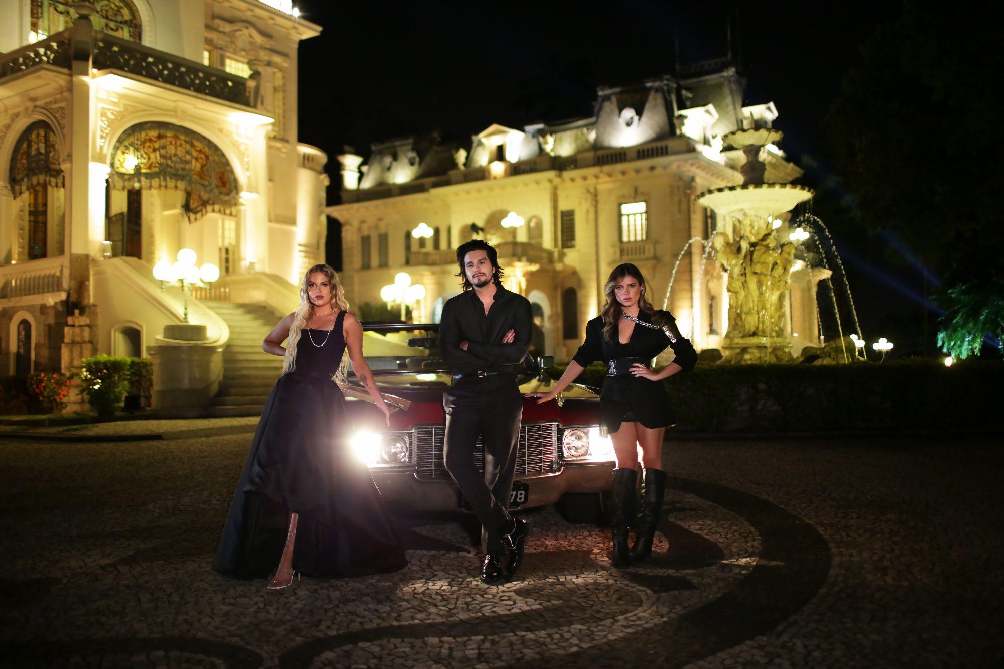 Luan Santana, Luísa Sonza e Giulia Be se juntam para ensaio glamouroso