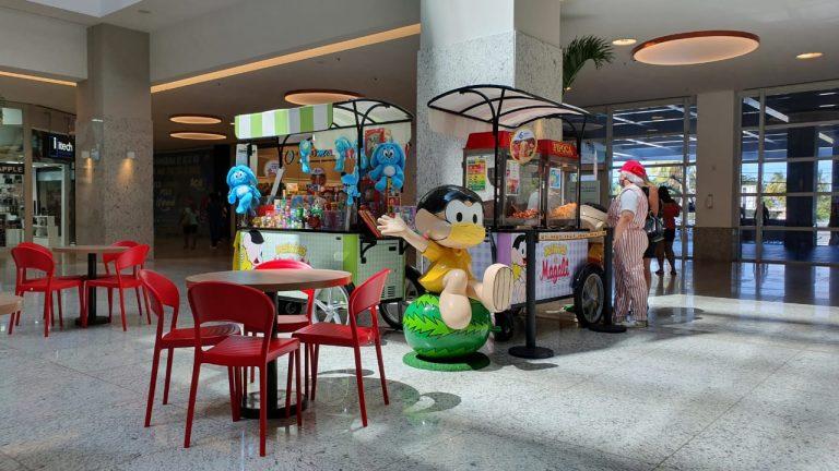 Quiosque da Turma da Mônica chega ao Shopping Patteo Olinda
