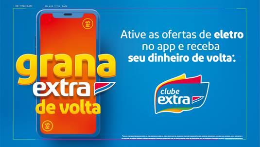 Extra faz dinâmica de cashback para consumidor que comprar eletro neste sábado (12/9)