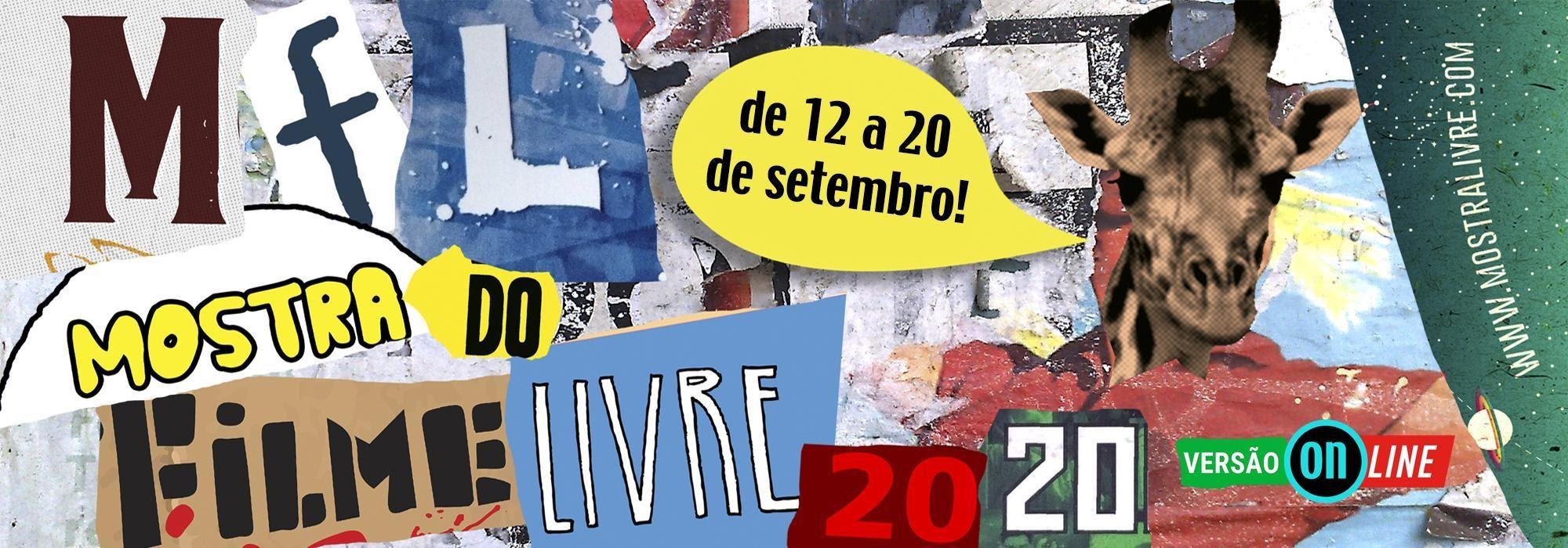 Mostra do Filme Livre começa dia 12 de setembro no formato on line