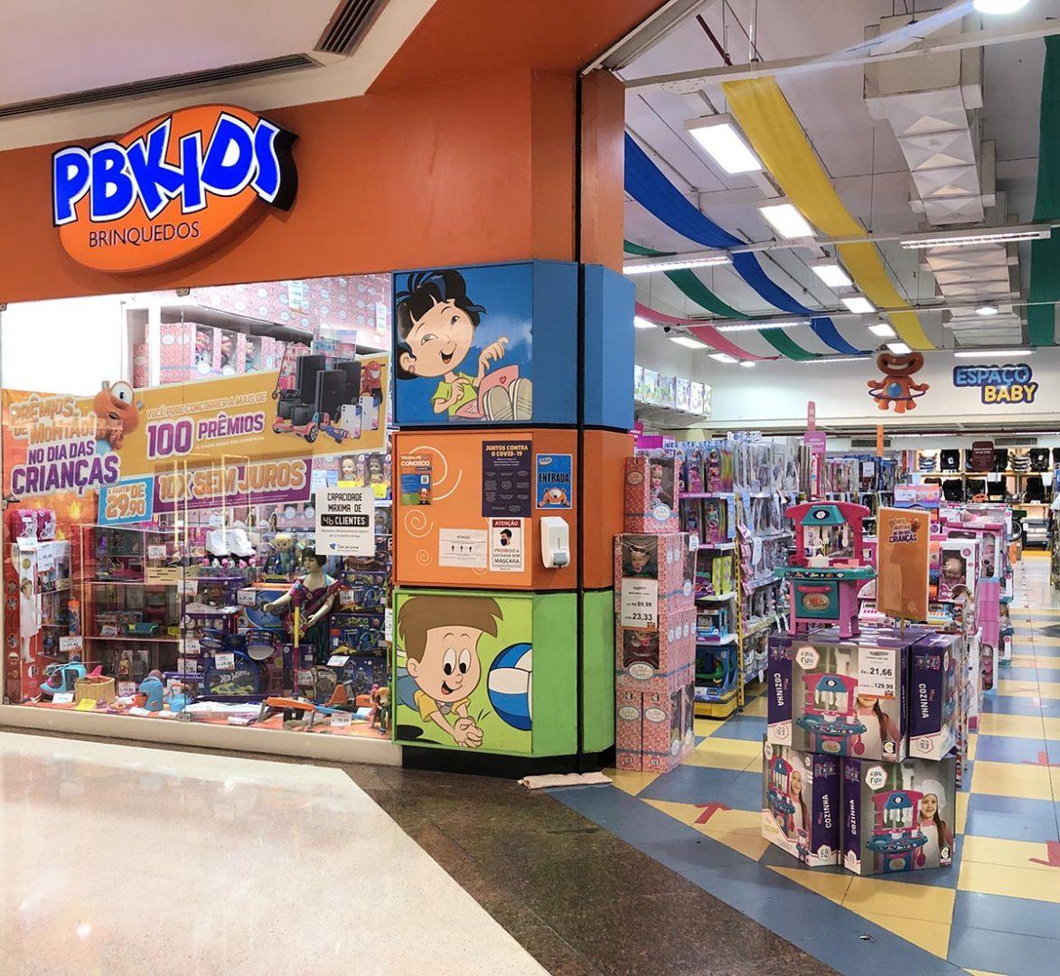 Shopping Tacaruna oferece diversas opções de presente para o Dia das Crianças