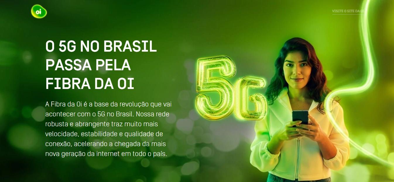 Oi começa operação piloto da tecnologia 5G em Brasília