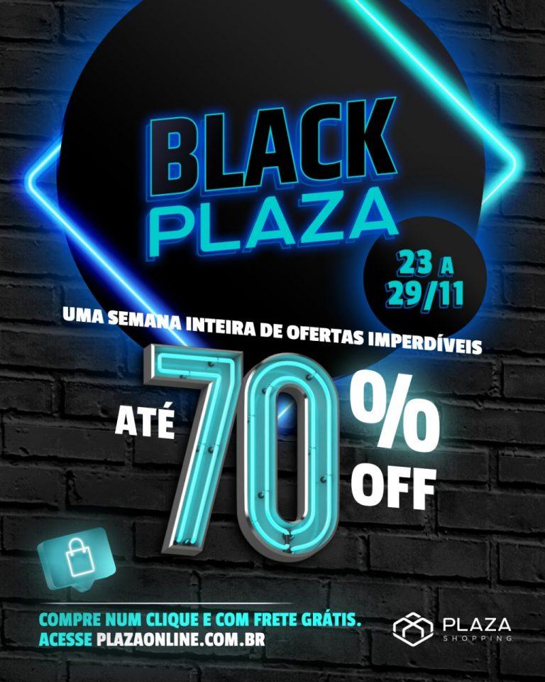 Plaza Shopping prepara Black Plaza com até 70% de desconto
