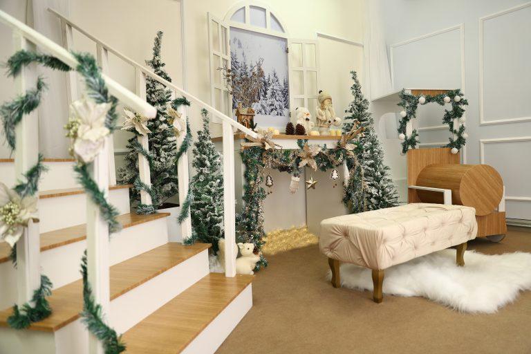 Famílias podem fazer ensaios fotográficos natalinos no Plaza Shopping