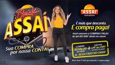 Black Assaí: Rede vai pagar compras de até R$ 1 Mil de clientes na Black Friday 2020