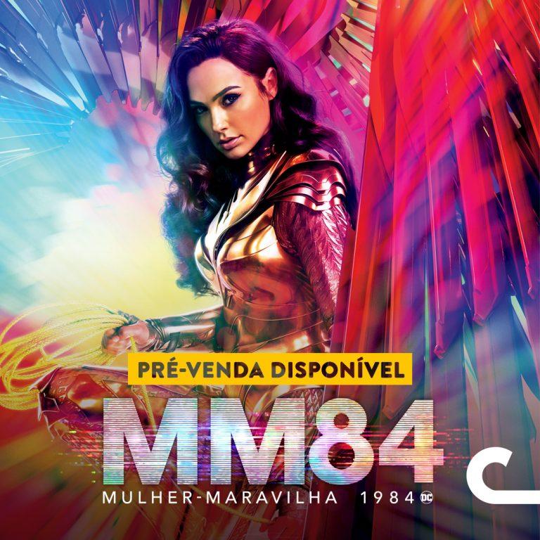 Mulher Maravilha longa mais aguardado do ano chega ao Cinemark  no RioMar